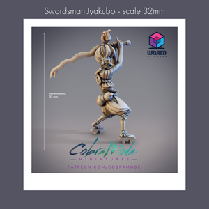 Cobramode - Swordsman Jyakubo - 32mm -