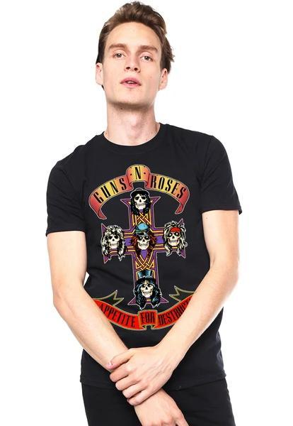 Playera Guns and Roses - Appetite for Destruction.