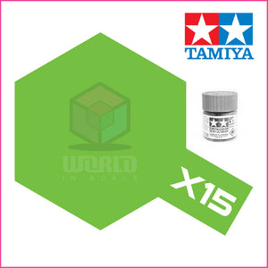 Pintura Tamiya X-15 Light Green