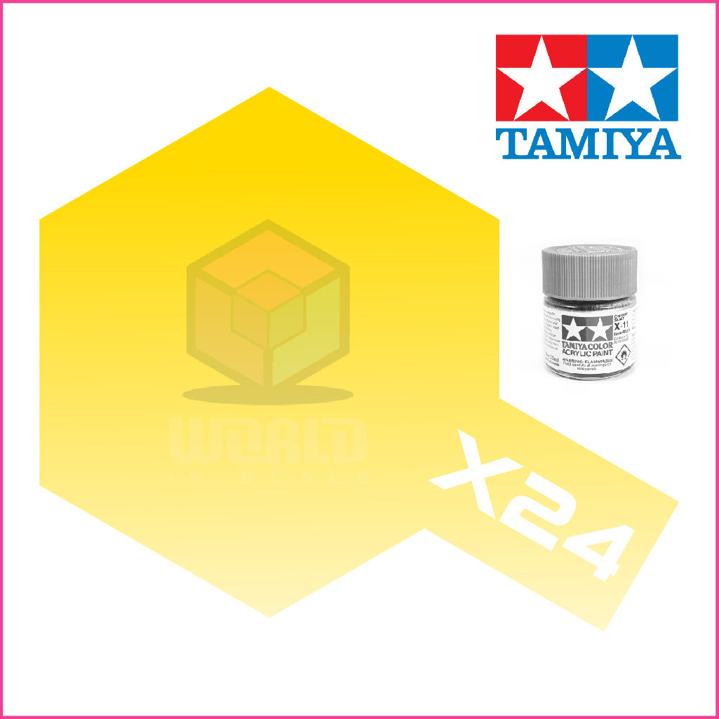 Pintura Tamiya X-24 Clear Yellow