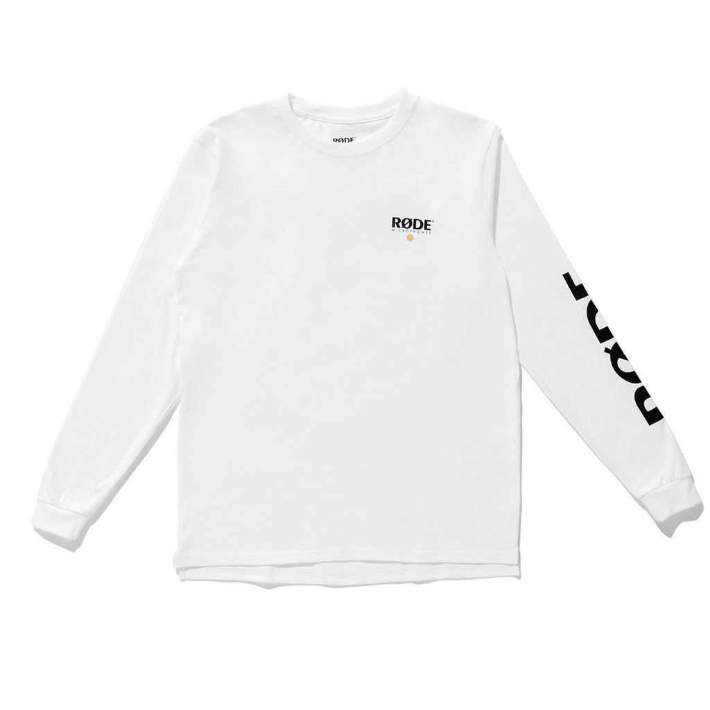 RØDE Long Sleeve Shirt - White