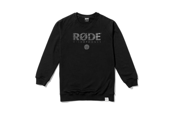 RØDE Crew Neck Sweater - Black