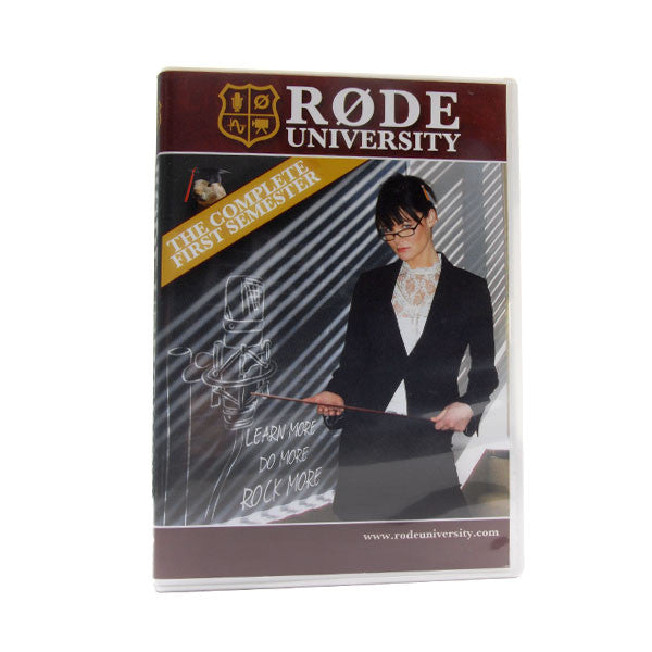 RØDE University Semester One DVD
