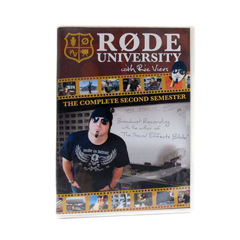 RØDE University Semester Two DVD