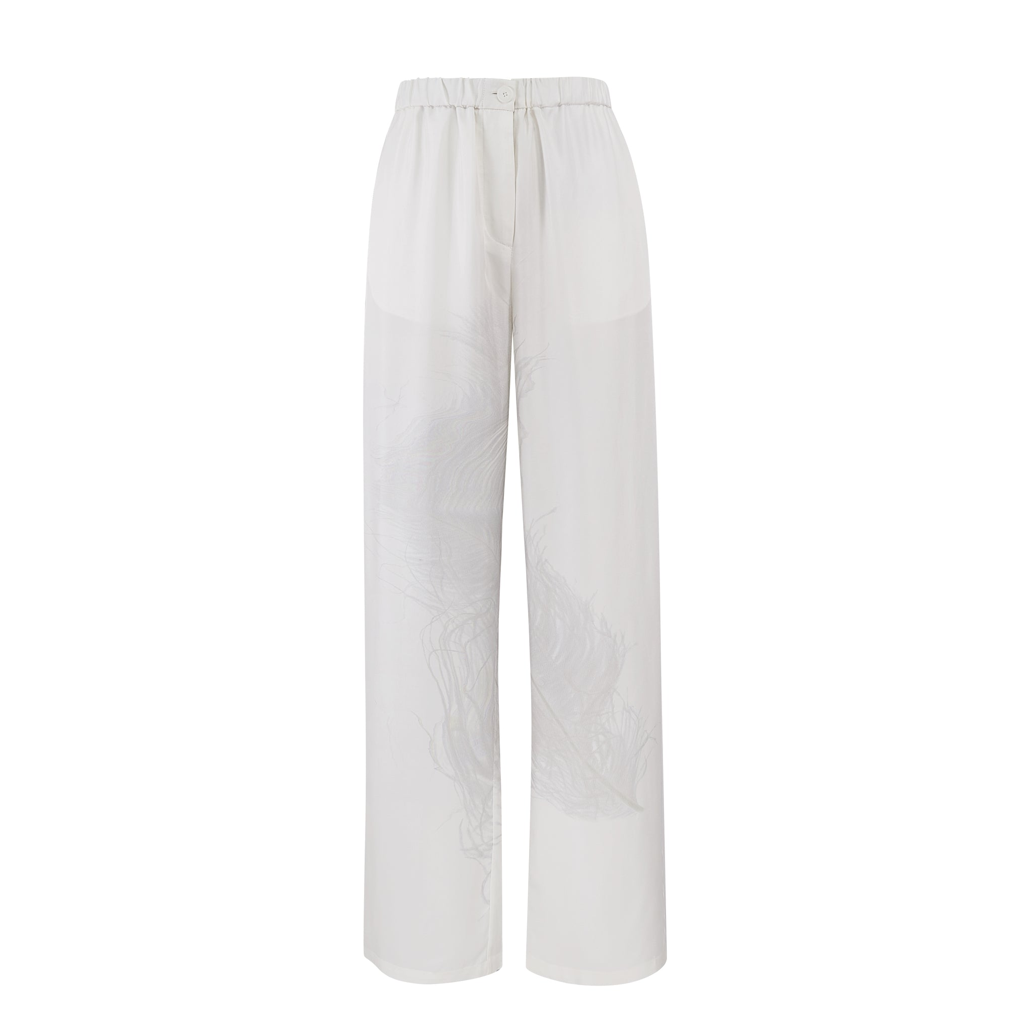 Silk Lounge Trousers