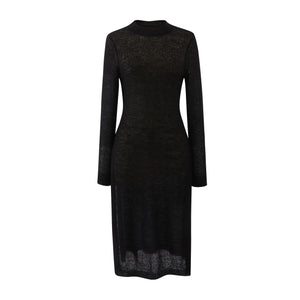 Knit Mohair Dress