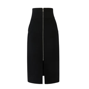 High Waisted Corset Pencil Skirt x Erdos Recycled Cashmere
