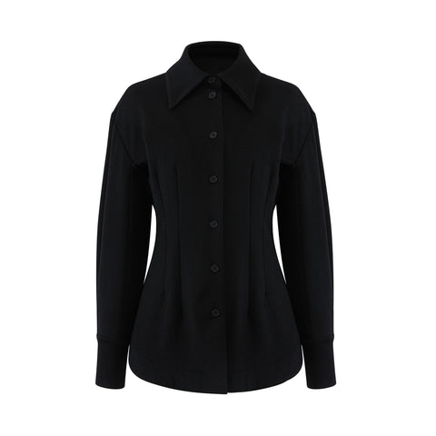 TZ Classic Shirt x ERDOS recycled cashmere