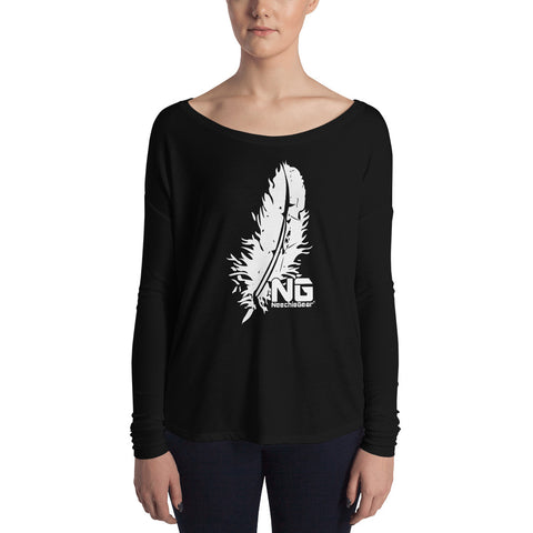 Big Feather Ladies' Long Sleeve Tee