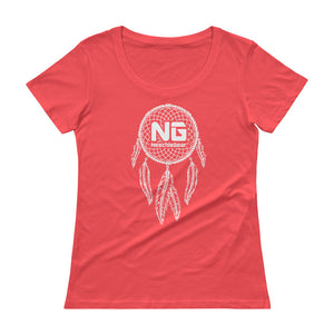 Dreamcatcher Ladies' Scoopneck T-Shirt