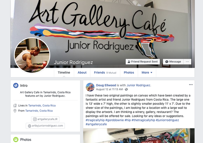 Connect with Junior Rodriguez!