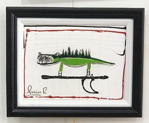 SOLD - Signature Surf Croc