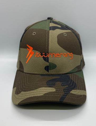 Camo Cap (Orange Logo)