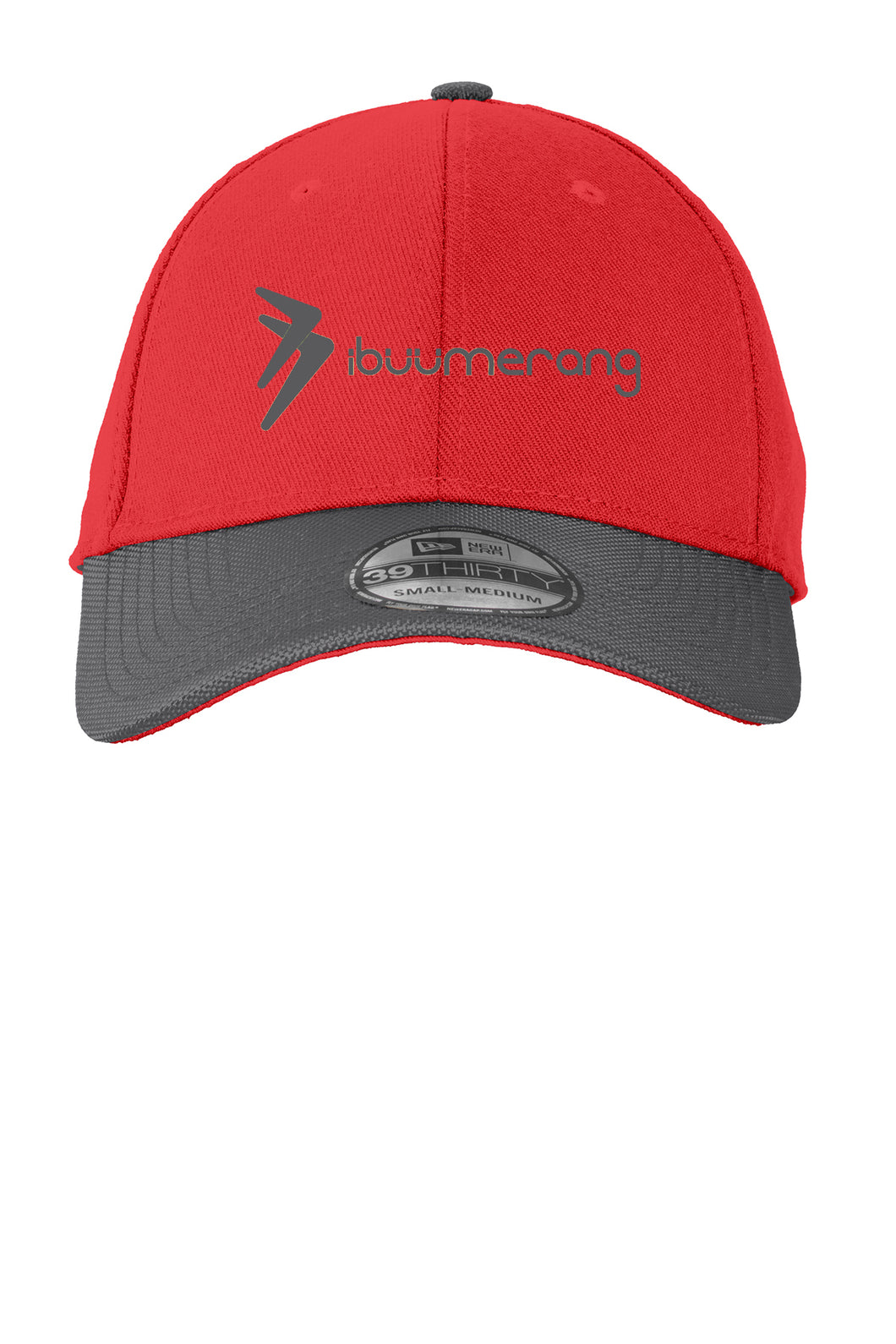 Ballistic Cap (Red and Charcoal)