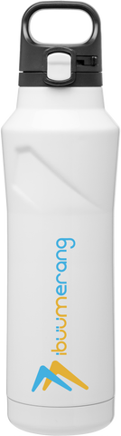 PopUp Water Bottle (White)