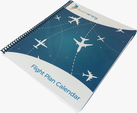 Spanish Flight Plan Calendar Bundle