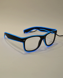 Gafas LED azul