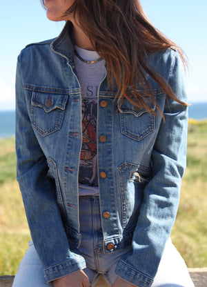 Vintage RRL Light Wash Denim Jacket