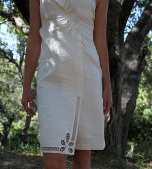 Vintage Jean Paul Gaultier White Dress