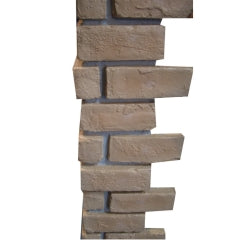 Durable FRP wall covering brick corner - Dryinsta