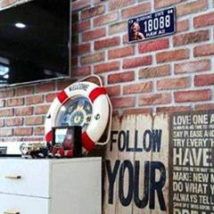 DryInsta Faux Brick Wall Panels for Room Decor