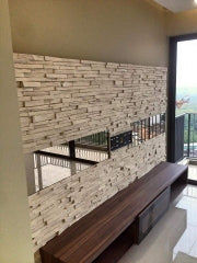 Faux Brick Wall Panels for Room Decor Rustic Style - Dryinsta