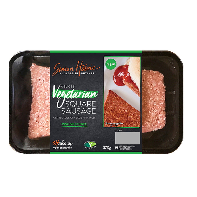 Vegan Square Sausage Now In Supermarkets