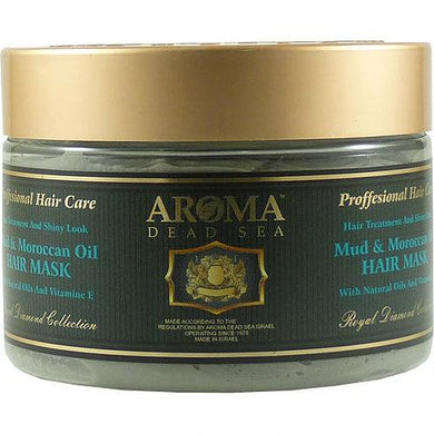Black Mud & Argan Oil Hair Mask 600 ml