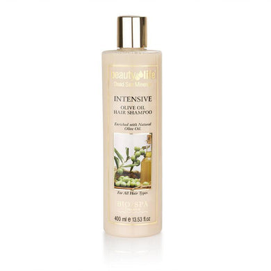 Intensive Shampoo With Natural Olive Oil & Dead Sea Extracts