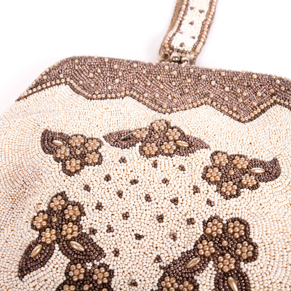Gorgeous original 20s beaded evening bag