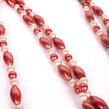 Long vintage bead necklace