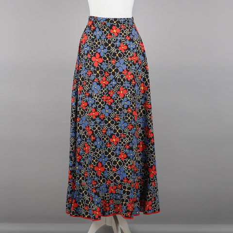 1970s vintage maxi skirt by Etam