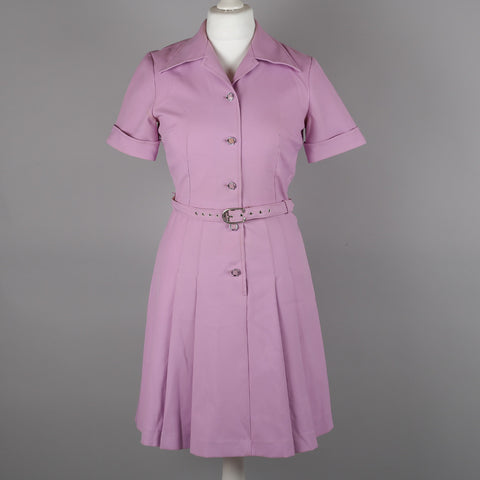 1970s lilac vintage dress by St Michael