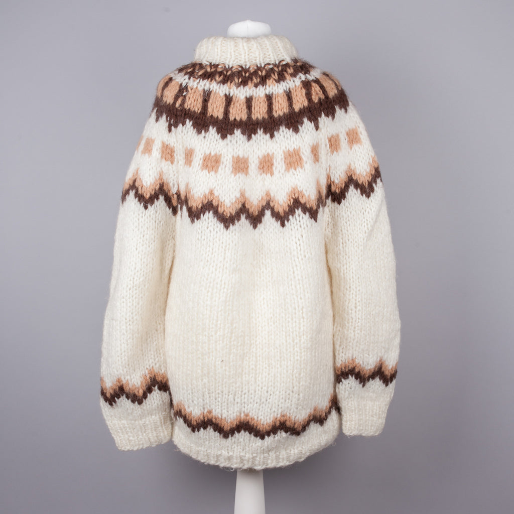 Chunky knit vintage boyfriend sweater