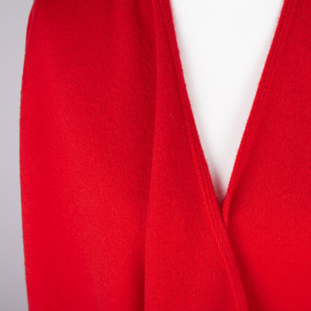 Red blanket wrap/shawl by Gerry Weber
