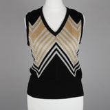 1970s metallic vintage tank top