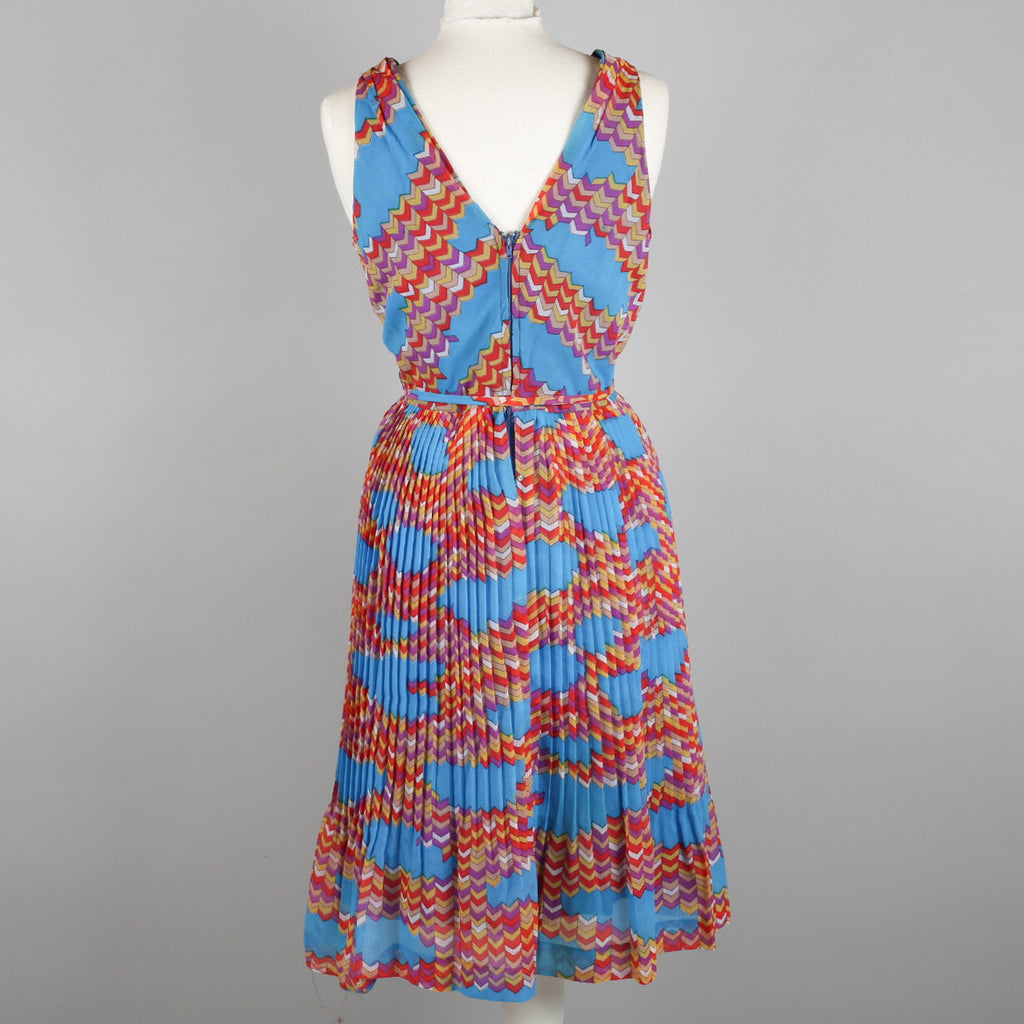 1970s vintage cocktail dress by Peter Barron size 6/8