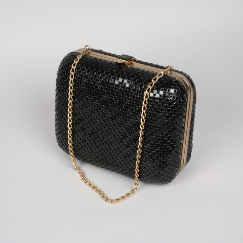 1960s chain mail vintage bag by Glomesh