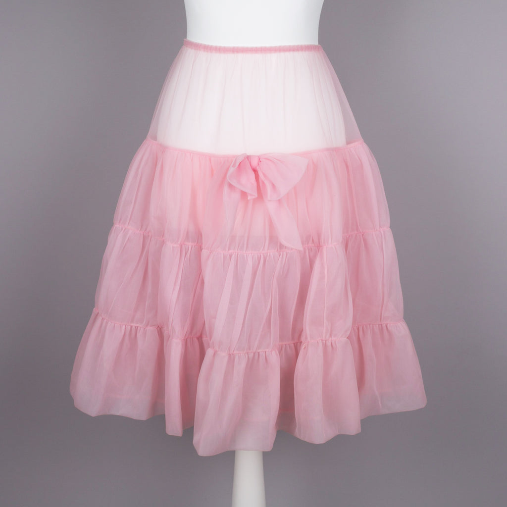 1950s vintage pink petticoat by St Michael