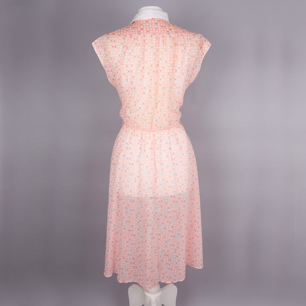 1970s sheer midi dress by Betty Barclay