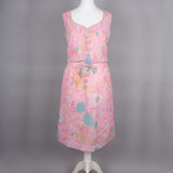 1960s pastel pink dress by Samuel Sherman