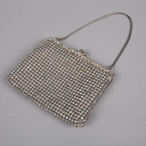 1960s diamanté vintage evening purse