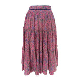 1970s vintage boho skirt by Peggy Lane