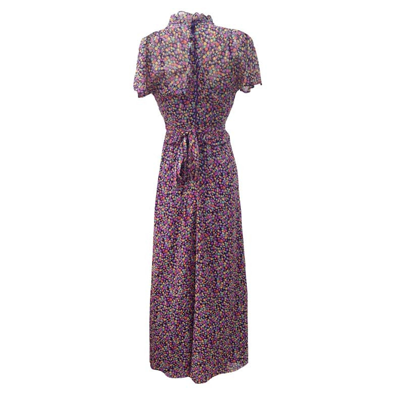 1970s vintage maxi dress by Vera Mont