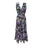 1970s floral maxi dress by Fink Modell
