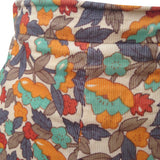 1970s A line vintage needlecord skirt
