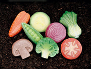 Vegetables: Sensory Play Stones