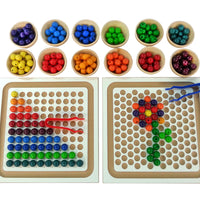 Bauspiel Bead Board Set