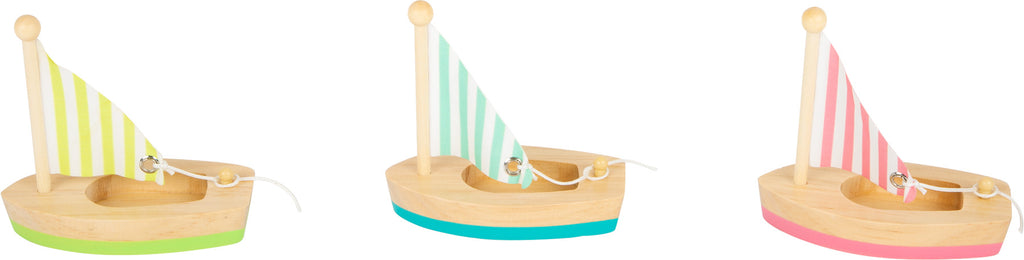 Sailing Boats (set of 3)