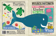 Nursery Times Crinkly Newspaper - Under the Sea